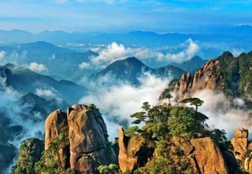 江西旅游必去景点-三清山