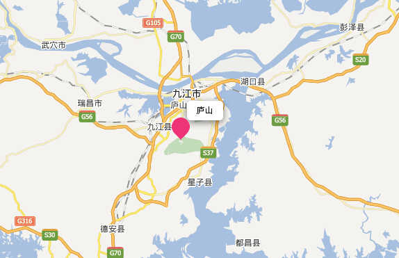 (庐山在哪里地图位置)